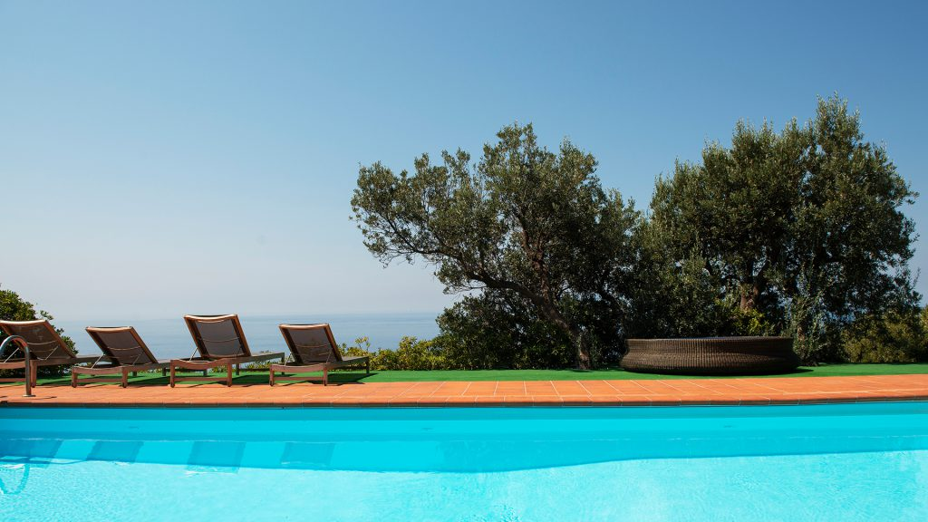 Piscina Approdo del Re Charming House Toscana
